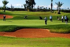 Terrain 1ére ligne sur golf