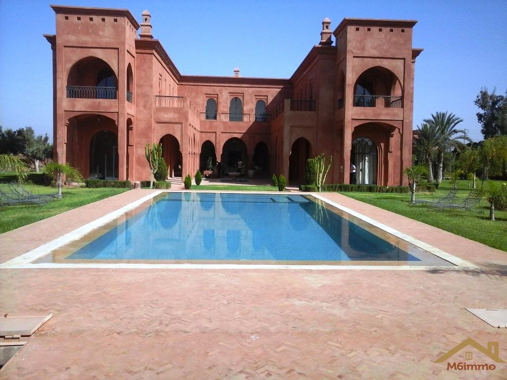 Location Villa sur un Hectare