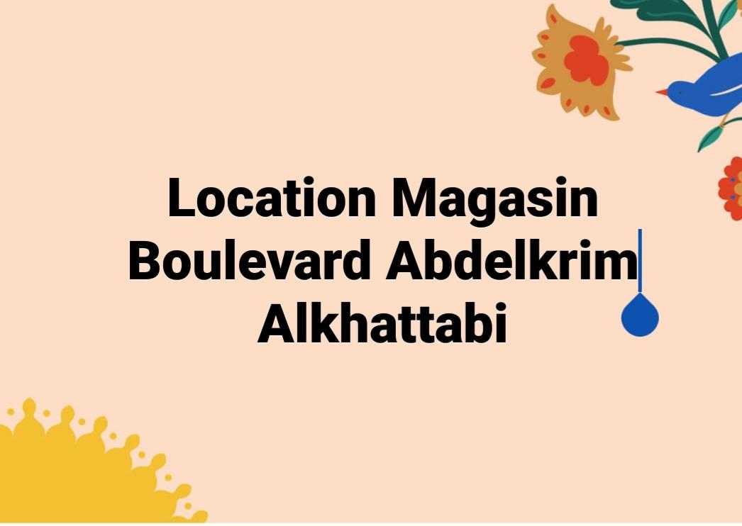 Location de Magasin